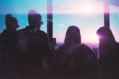 That This City is Yours; That is Our Prayer (thomas_anthony__) Tags: mission jesus god lord spirit friends community fellowship family brother sister sisters brothers double exposure multiple film 35mm analog city melbourne trip travel sky tower silhouette silhouettes sun sunset horizon lens flare lomochrome purple adventure growth beauty color