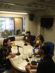 Entrevista en Radio Galicia - Cadena Ser a Peregrinos Musicales