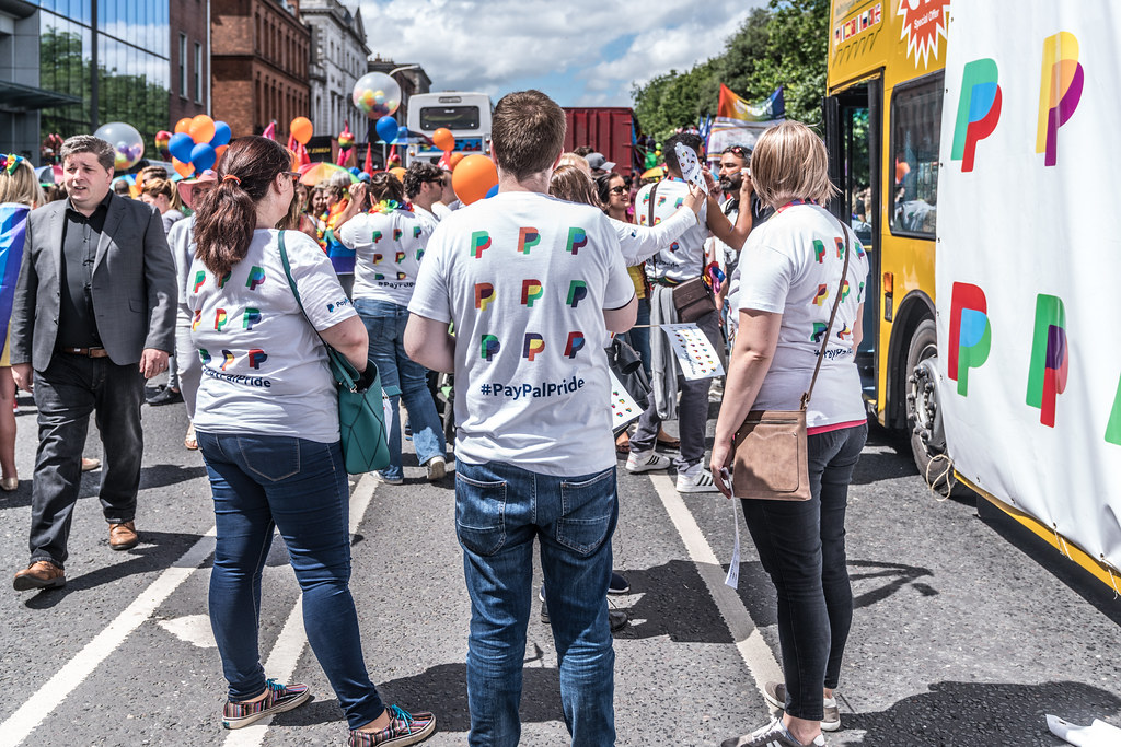 LGBTQ+ PRIDE PARADE 2017 [STEPHENS GREEN BEFORE THE ACTUAL PARADE]-129871