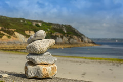 Lands End (stevefge) Tags: bretagne brittany france penhir finisterre sea ocean atlantic stone beach reflectyourworld