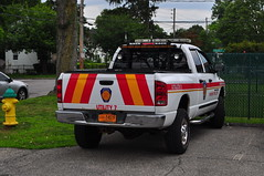 Fairview Fire Department Utility 7 (Triborough) Tags: ny newyork westchestercounty greenburgh fairview ffd fairviewfiredepartment firetruck fireengine utility utility7 dodge ram 2500