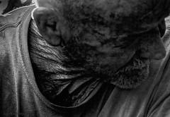 Wrinkles (JDS Fine Art Photography) Tags: portrait old oldman wrinkles bw homeless dark lowkey