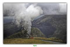 SNOWDON MOUNTAIN RAILWAY (3) (régisa) Tags: snowdon gwynedd cymru wales galles snowdonia train trackandpinion cremaillere vapeur trail thedurutticolumn