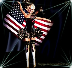 Happy Indepen-dance Day (kristi Stevenson (KC Photography and Graphic Art S) Tags: irrisistible shop isis secretspy independance day 4 th july kristi stevenson blogger
