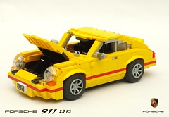 Porsche 911 Carrera 2.7 RS (lego911) Tags: porsche 911 carrera 27 rs coupe 1973 1970s classic nine eleven auto car moc model miniland lego lego911 german germany racer sports sportscar lugnuts challenge 117 acultfollowing cult following howtobuildbrickcars peter blackert book instructions how build brick cars