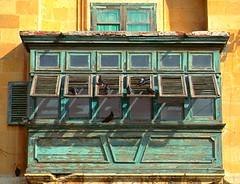 VALLETTA WINDOWS SHUTTERS (patrick555666751) Tags: vallettawindowsshutters la window shutter volets volet ventana fenetres fenetre finestre fenster europe europa ilhas islands iles islas mediterranee mediterranean mediterraneo valette malte malta shutters flickr heart group