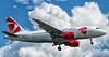 Czech aircraft on approach to Arlanda airport, Stockholm