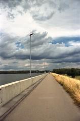 Straight (Moryc Welt) Tags: epsonv600 iscanforlinux gimp lagoon olympus is3000 135 tetenalsp45 goczałkowice silesia poland europe clouds