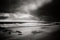 DR1-056-26A (David Swift Photography Thanks for 22 million view) Tags: davidswiftphotography newjersey oceancitynj storms stormclouds beaches ocean seashore sea waves atlanticocean 35mm coastline film ilfordxp2 nikonfm2