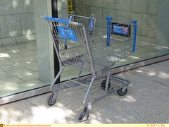 Walmart Cart (TheTransitCamera) Tags: coquitlamcentre mall shopping indoor retail coquitlam bc britishcolumbia city urban suburb region walmart cart basket chain bigbox