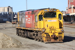 DXB5022 (ambodavenz) Tags: dxb class diesel electric loco locomotive train engine kiwi rail timaru south canterbury new zealand
