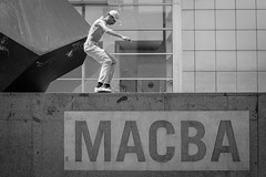 Tail Slide, MACBA (Geraint Rowland Photography) Tags: tailslide skate skateboarding skater skateboarders skateboardinginbarcelona macba macbaskateboarding skaters macbamuseudartcontemporanidebarcelona blackandwhite streetphotography actionphotography lightroom geraintrowlandphotography freezemotion streetphotographytoursinbarcelona alternativetoursinbarcelonawithgeraintrowland wwwgeraintrowlandcouk cap skatestyle skatefashion rad radical