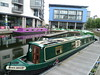 Union Canal at Edinburgh Quay (calderwoodroy) Tags: pontoons lowlandcanal blackgrouse lochrinbelle holidayhirecraft narrowboats waterways fountainbridge edinburghquay canalbasin canal unioncanal scotland edinburgh