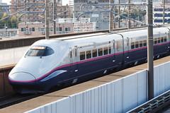 Tohoku Shinkansen E2 series 001 (A.S. Kevin N.V.M.M. Chung) Tags: train rail japan omiya jr shinkansen highspeedrailway