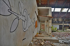 industrial building RZ01 #28 (jourbexia) Tags: industry industrial factory factories decay decayed decaying derelict dereliction abandoned disused empty europe european urbex urbanexploration ux urban exploration building buildings rural ruralexploration architecture italy italian interior inside graffitti graffiti vandalism