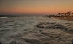 Back & Forth .. (Hazem Hafez) Tags: waves early dawn slow beach sea resort sky coast
