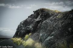 Hawaiian lava flows (judy dean) Tags: judydean 2017 hawaii bigisland kona volcano lava aa