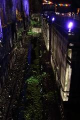 Industrial night (II) (dididumm) Tags: concrete water night light darkness industrial industriell dunkelheit licht nacht wasser beton henrichshütte hattingen nrw extraschicht2017