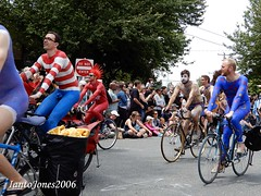 DSCN2062 (IantoJones2006) Tags: fremont solstice cyclists 2017 naked bike seattle parade nude painted body paint bicycle
