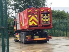LFB HVP (slinkierbus268) Tags: lfb london fire brigade barnet hvp high volume pump fireappliance fireengine hertfordshire man