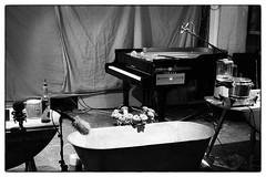 John Cage's Water Walk performed by Arthur Bruce @ Cafe Oto, London, 10th July 2017 (fabiolug) Tags: bathtub roses flowers piano pianoforte johncage waterwalk arthurbruce smithbrown avantgarde cafeoto london dalston music gig performance concert live livemusic leicammonochrom mmonochrom monochrom leicamonochrom leica leicam rangefinder blackandwhite blackwhite bw monochrome biancoenero zeisscsonnartf1550mmzm zeisszm50mmf15csonnar zeisscsonnar zeisssonnar zeiss sonnar 50mm sonnar50mm 50mmf15