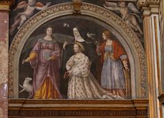 Bernardino Luini (1481-1532) la donatrice Ippolita Sforza con sante - San Maurizio al Monastero Maggiore Milano (raffaele pagani) Tags: sanmaurizioalmonasteromaggiore stmauriceatthemonasterymajor sanmaurizio chiesa church convent affresco fresco bernardinoluini aurelioluini giovanpietroluini luinifamily milano milan lombardia lombardy italy canon