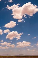 """Big Sky NM"" (Day 6/365) (milmonfharrison) Tags: clouds cloudy project365 train window newmexico arizona sky"