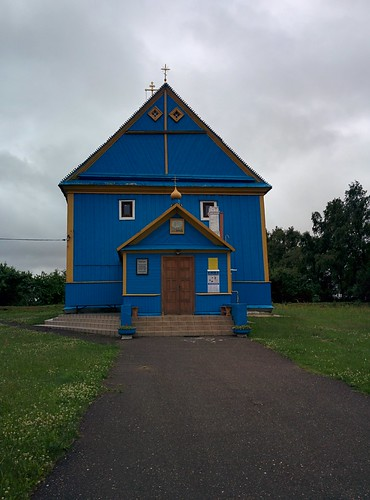 Church in Dmitrovichi, Belarus
