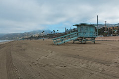 NPS - Beaches (Connar L'Ecuyer) Tags: beach landscape lasvirgenesdistrict lifeguardtower mountains nps nationalparkservice recreationarea sand santamonicamountains zumabeach