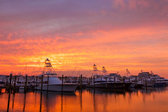 All Lit Up (joscelyn_p) Tags: oceancitymaryland oceancity ocmd maryland md sunset sunsets travel photography lightroom colors colorful