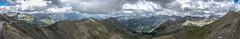 Panorama de Col de la Bonette (Frank ) Tags: france canon pano holiday mountain scenery view wide 2003 frnk panorama landscape sigmasd9 topf50 topf100 coldelabonnetje col peak