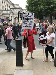 Anti Austerity March, July 2017 (Ian Press Photography) Tags: anti austerity march july 2017 theresa may protest protests protester protesters demo demonstration london tory conservative