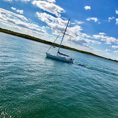 Calmness.. #sunnyday #boatlife #mv #sailboat #marthasvineyard# #ocean #beautiful #bluesky# #photography #nature #photoofday #traveling #travel (mrbrooks601) Tags: sunnyday sailboat ocean beautiful nature travel boatlife mv marthasvineyard bluesky photography photoofday traveling
