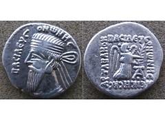 Vonones I (Baltimore Bob) Tags: coin money ancient persia persian parthia parthian arsacid arsakid vonones i drachm nike victory ecbatana ekbatana hamadan iran iranian