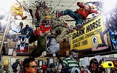 2016-Dark Horse Comic Poster Art at SDCC-01 (David Cummings62) Tags: sandiego ca calif california comiccon con david dave cummings poster darkhorse comic goon 2016