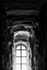 Melt (SK51) Tags: art bw bamburghcastle blackandwhite canon40d castle england europe lightroom northumberland other structures uk window