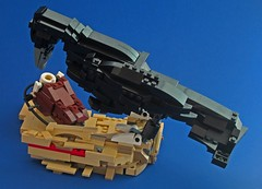 1.1 Volts of Electricity (VAkkron) Tags: lego glados crow nest potato battery 11 volts