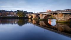 River Leven and Dumbarton Bridge (Joe Son of the Rock) Tags: dumbartonquay riverleven dumbarton river longexposure ndfilter dumbartonbridge bridge neutraldensityfilter reflection stillness stillwaters