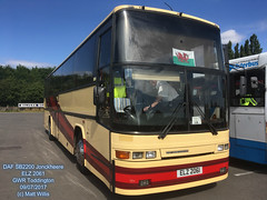 DAF SB2300 JONCKHEERE ELZ 2061 EX CENTURION TRAVEL 09072017 (MATT WILLIS VIDEO PRODUCTIONS) Tags: daf sb2300 jonckheere elz 2061 ex centurion travel 09072017