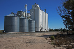 Pierceville, Kansas Grain Elevator. (Wheatking2011) Tags: pierceville kansas grain elevator owned by irsik doll