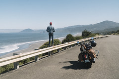 Gold Beach, OR (sfldp) Tags: oregon pch pacificcoast pacificocean beach pacific coast highway us1 101 1 redwoods state park crater lake national motorcycle indian scout snow mountains forest adventure explore roadtrip road trip selfie sony sonya6300 rokinon12mm rokinon a6300