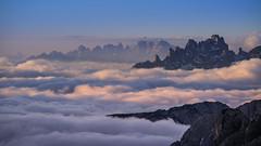 Cloudy Day (Bastian.K) Tags: italien shot sony a7rii voigtlander sl 180mm 40 apo italy cv dolomites sexten sextener cloud cloudy clouds wolke wolken sonnenaufgang sunrise sunset dawn dusk lanthar apolanthar