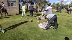 Slaughtering a sheep (Hans van der Boom) Tags: holiday vacation travel sawadee zuidafrika southafrica lesotho maseru semonkong smonkong lso