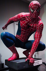 disobederman (n.a.) Tags: holland amsterdam nl netherlands spiderman superhero marvel spidey character squat webslinger toy shop do touch sign