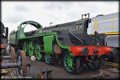 No 828 Harry A Frith 20th May 2017 MHR Ropley (Ian Sharman 1963) Tags: class s15 maunsell 460 no 828 harry a frith steam station engine railway rail railways train trains loco locomotive passenger mid hants alton alresford ropley