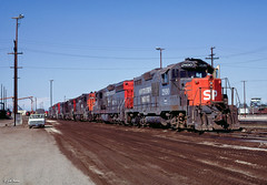 SP 2890 at Roseville, CA (thechief500) Tags: railroads sp espee southernpacific roseville california