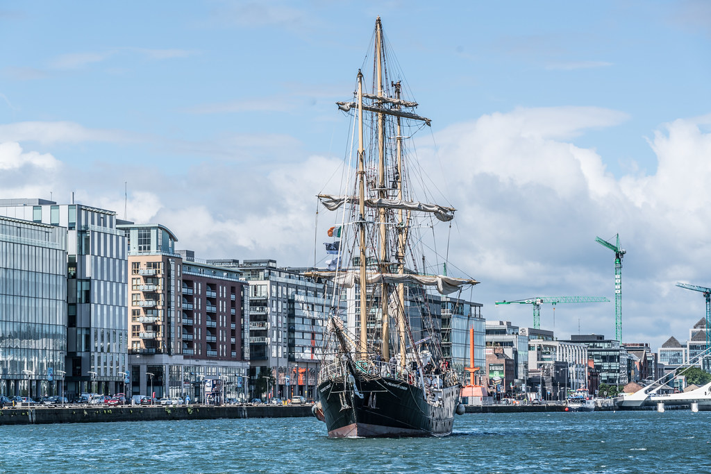 PELICAN OF LONDON [TALL SHIPS LEAVING DUBLIN PORT TUESDAY JUNE 6 2017]-129383