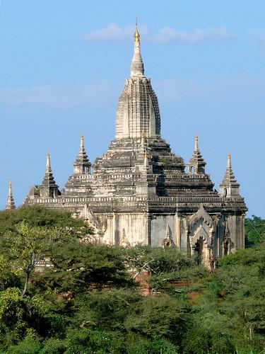Buddhist temple.  Bagan, Myanmar (Burma)