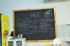 Today's menu - Malaysian Kampung Restaurant, Bentleigh (avlxyz) Tags: blackboard menu fb malayfood