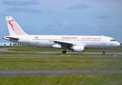"TS-IMG, Airbus A320-211, c/n 390, Tunisair, ""Abou El Kacem Chebbi"", CDG/LFPG, 2017-05-23, on Delta-Loop, taxi to stand at Terminal 3. (alaindurandpatrick) Tags: tsimg cn390 a320 a320200 airbus airbusa320 airbusa320200 minibus jetliners airliners tu tar tunair tunisair sociététunisiennedelair airlines airlinesoftunisia airlinesofafrica cdg lfpg parisroissycdg airports aviationphotography"